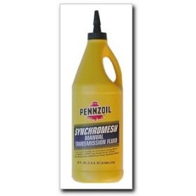 Show details of Pennzoil Synchromesh Manual Transmission Fluid quart.