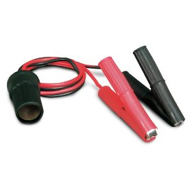 "Show details of 12V, """"Clip-On"""" Battery Platinum Series Cigarette Lighter Adapter""."
