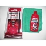 Show details of Mothers Mini Power Ball And Powerball Metal Polish Plus One 16X16 Microfiber Towel Combo Pack.