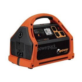 Show details of Xantrex Powerpack 600 Watt Jumpstarter, Power Inverter and Backup Power Source.