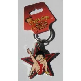 Show details of Betty Boop Star Key Chain..