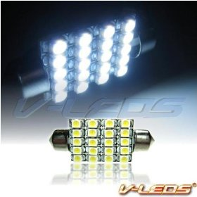 Show details of HID WHITE M-SMT 20 LED DOME LIGHT BULB 212 211 212-2 214 578.