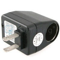 Show details of Universal AC to DC Car Charger Power Converter Adapter.