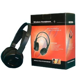 Show details of Wireless IR Headphones for your car DVD player or anything you have.
