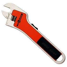 Show details of Black & Decker AAW100 8-Inch Auto Wrench Adjusting Wrench.
