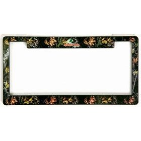 Show details of Mossy Oak License Plate Frame.
