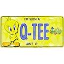 Show details of Tweety Bird Q-TEE License Plate.