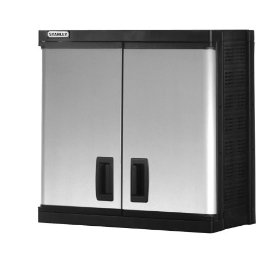 Show details of Stanley Tools and Consumer Storage 716201R 16-Inch Deep Wall Cabinet.
