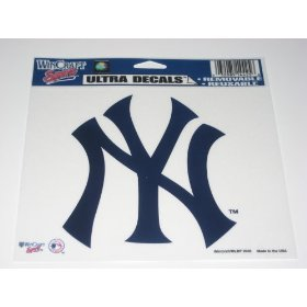 "Show details of New York Yankees 4x6"" Color Decals."