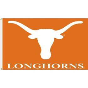 Show details of Texas Longhorns 3 Ft. x 5 Ft. flag w/grommetts - NCAA.