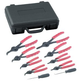 Show details of OTC 4512 Internal - External Snap Ring Plier Set.
