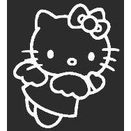 Show details of Hello Kitty Sticker 5..