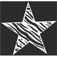 Show details of Star Zebra Sticker.