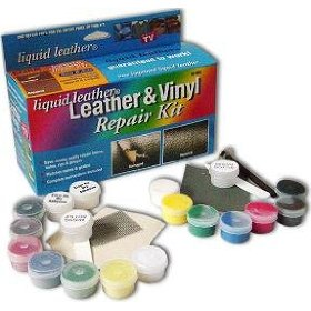 Show details of Liquid Leather Pro Leather and Vinyl Repair Kit.
