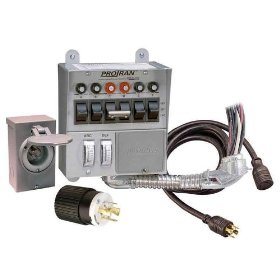 Show details of Reliance Controls Transfer Switch Kit - 6 Circuit, Model# 31406CRK.