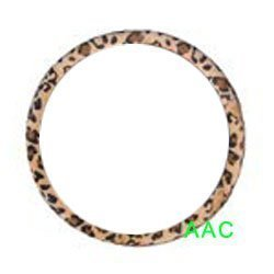 Show details of Animal Print Steering Wheel Cover - Leopard.