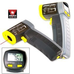 Show details of Neiko Professional Non Contact Digital Infrared Thermometer Gun.