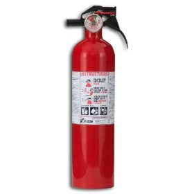 Show details of Kidde FA110 Multi Purpose Fire Extinguisher 1A10BC.