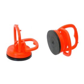 """Show details of Set of Two Mini 2-1/4"""" Power Puller Suction-Cup Handles - Dent Pullers - Pulls up to 50 Lbs!."""
