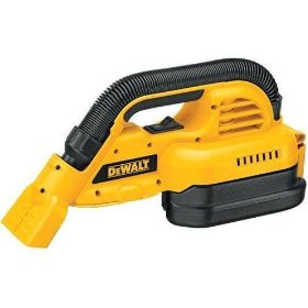 Show details of Bare-Tool DEWALT DC515B Heavy-Duty 18-Volt Cordless 1/2 gallon Wet/Dry Portable Vacuum (Tool Only, No Battery).
