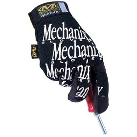 Show details of Mechanix Wear MG-05-011 Original Glove, Black, XL.