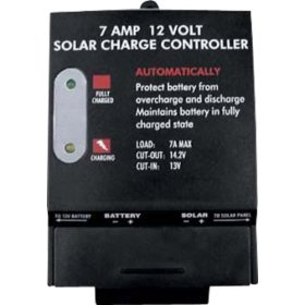 Show details of Sunforce 7 Amp Charge Controller.