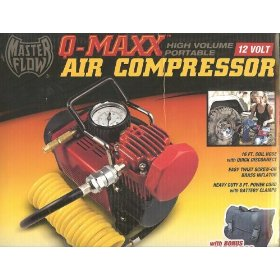 Show details of Q Industries MF-1052 MasterFlow Q-Maxx Hi Volume Air Compressor.