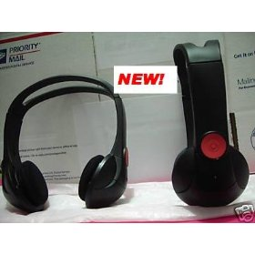 Show details of Chevrolet Suburban Wireless IR Headphones for model years 2007, 2008 & 2009 shelf 12.