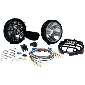 Show details of KC HiLiTES 121 SlimLite Black 130-Watt Long Range Light System.