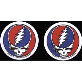 "Show details of Grateful Dead - PAIR OF 2 1/2"" STEAL YOUR FACE - Sticker / Decal."