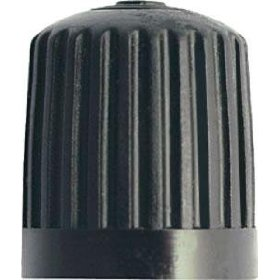 Show details of Black Plastic Tire Valve Stem Cap - 4 Pack, - Milton - S-439.