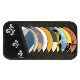 Show details of Butterflies 10-CD Visor Organizer.