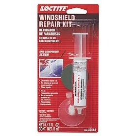 Show details of Windshield Repair One-component System - .17fl oz Syringe.