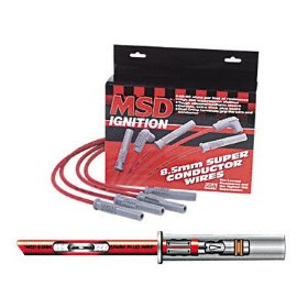 Show details of MSD Ignition 32819 Super Conductor Spark Plug Wire Set.