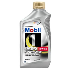 Show details of Mobil 1 Extended Performance 15W-50 Motor Oil - 1 Quart, Pack of 6.