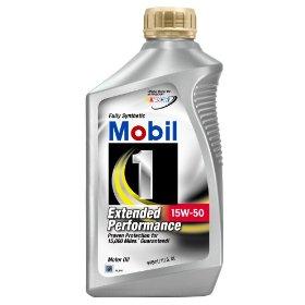 Show details of Mobil 1 Extended Performance 15W-50 Motor Oil - 1 Quart, Pack of 6.