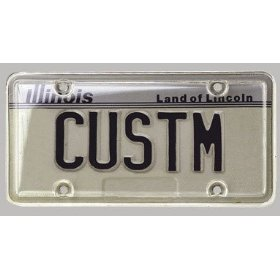 Show details of Custom Accesssories CU92520 Clear License Plate Protector.
