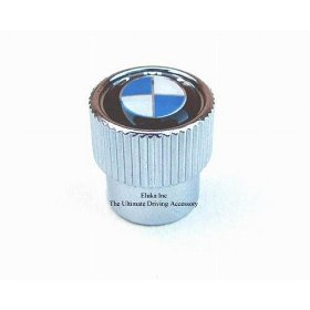 Show details of 4 BMW Valve Stem Caps with BMW Logo.