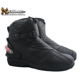 Show details of Men's Advanced Xelement Motorcycle Black Action Boots - Size : 9.