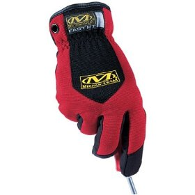 Show details of Mechanix Wear MFF-02-010 Fast Fit Glove Red Large.
