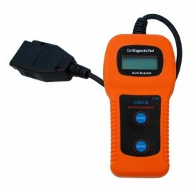 Show details of OBD II Check Engine Auto Scanner Trouble Code Reader.