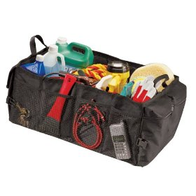 Show details of Highland 19820 Black Space Master Soft-Sided Cargo Organizer.