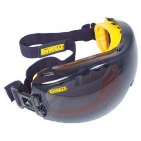 Show details of Dewalt DPG82-21C Concealer Smoke Anti-Fog Dual Mold Safety Goggle.