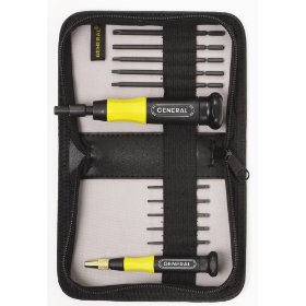 Show details of General Tools 67351 10-Piece Torx Screwdriver Set.