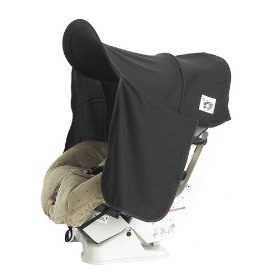 Show details of Protect-A-Bub UPF+50 Car Seat Sunshade- Black.