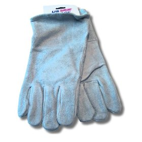 Show details of US Forge 99402 Welding Gloves Leather, Gray.