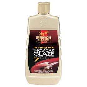 Show details of Meguiar's M-0716 Mirror Glaze Professional Show Car Glaze. 16 oz. liquid.