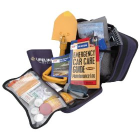 Show details of AAA 63-Piece Winter Severe Weather Travel Kit.