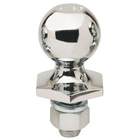 "Show details of Reese Towpower 72803 Chrome Interlock 2 5/16"" Hitch Ball."