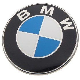 Show details of BMW Roundel Hood Emblem 82mm.